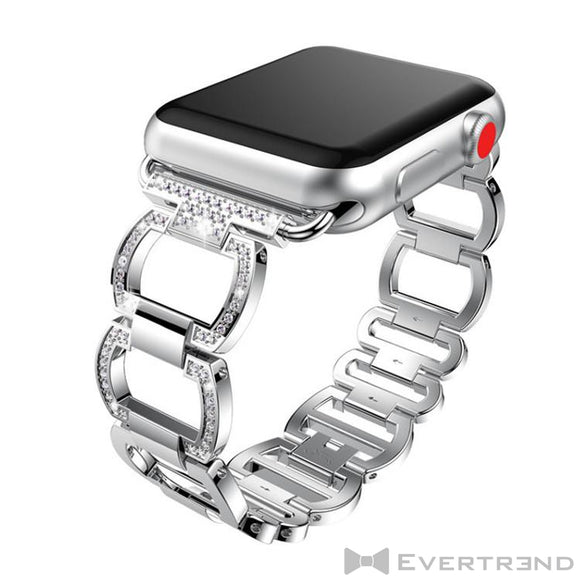 Bracelet Gala Argent-Apple Watch-Evertrend