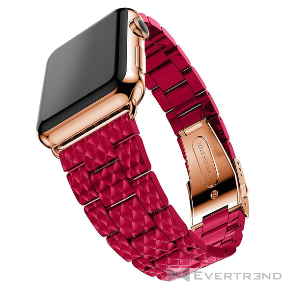 Bracelet Genève Fuchsia-Apple Watch-Evertrend