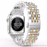 Bracelet London Argent Or-Apple Watch-Evertrend