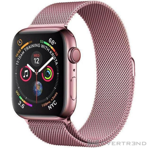 Bracelet Milanais Or Rose-Apple Watch-Evertrend