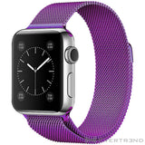 Bracelet Milanais Violet-Apple Watch-Evertrend