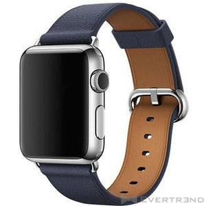 Bracelet Monaco Bleu Nuit-Apple Watch-Evertrend