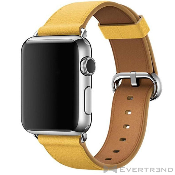 Bracelet Monaco Jaune-Apple Watch-Evertrend
