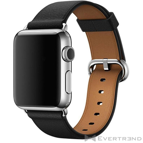 Bracelet Monaco Noir-Apple Watch-Evertrend