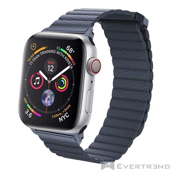 Bracelet Munich Bleu-Apple Watch-Evertrend
