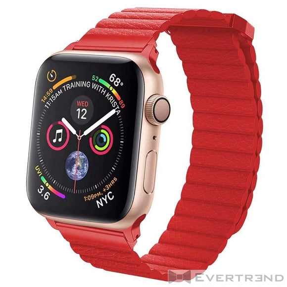 Bracelet Munich Rouge-Apple Watch-Evertrend