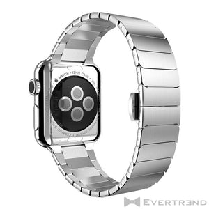 Bracelet Stockholm Argent-Apple Watch-Evertrend