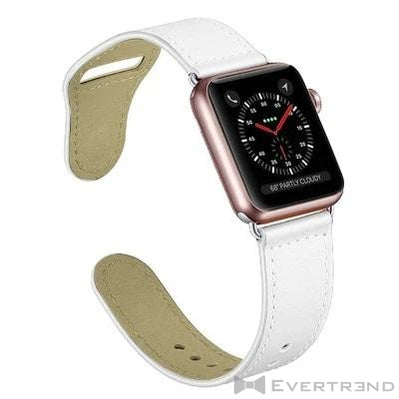 Bracelet Oslo Blanc-Apple Watch-Evertrend