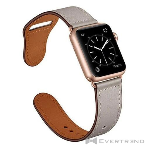 Bracelet Oslo Gris Clair-Apple Watch-Evertrend