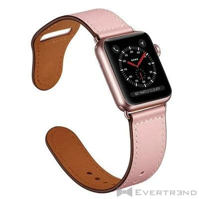 Bracelet Oslo Rose Clair-Apple Watch-Evertrend