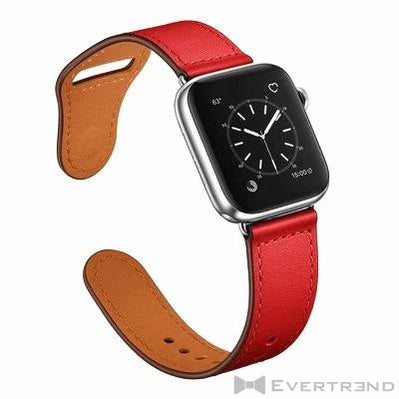 Bracelet Oslo Rouge-Apple Watch-Evertrend