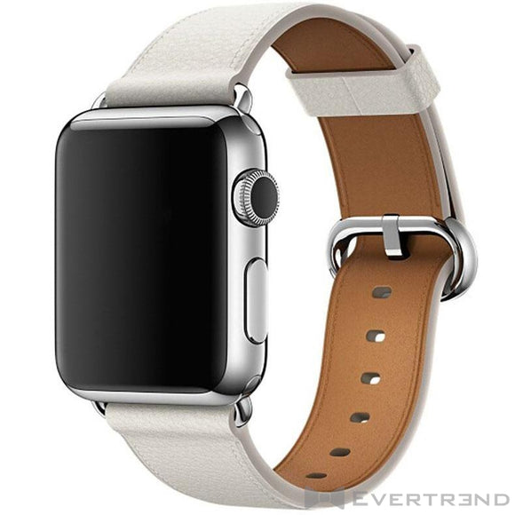 Bracelet Monaco Blanc Apple Watch