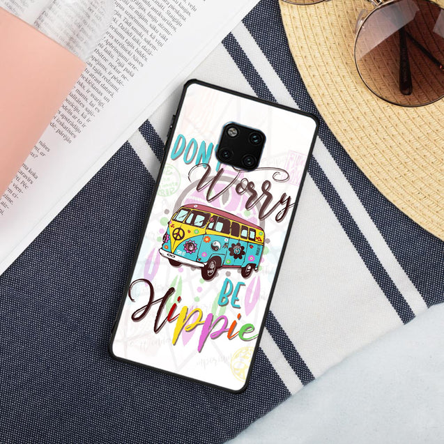 Hippie Sunflowers Bus Phone case for iPhone Samsung nah260513