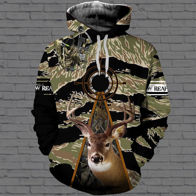 Deer hunting 3D All Over Printed Hoodie, T-Shirt, Sweater dad181205