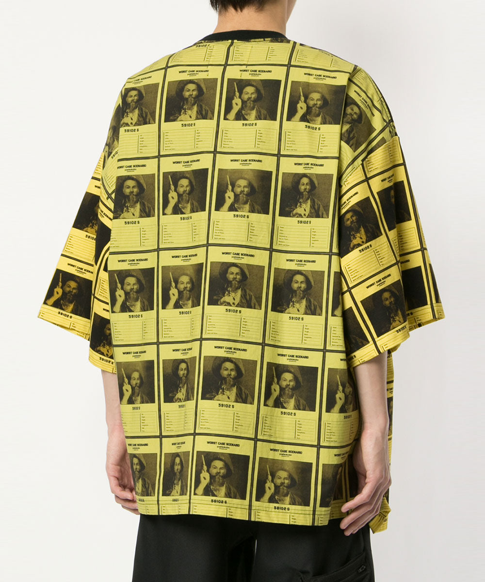 OVERSIZED WANTED T-SHIRTS