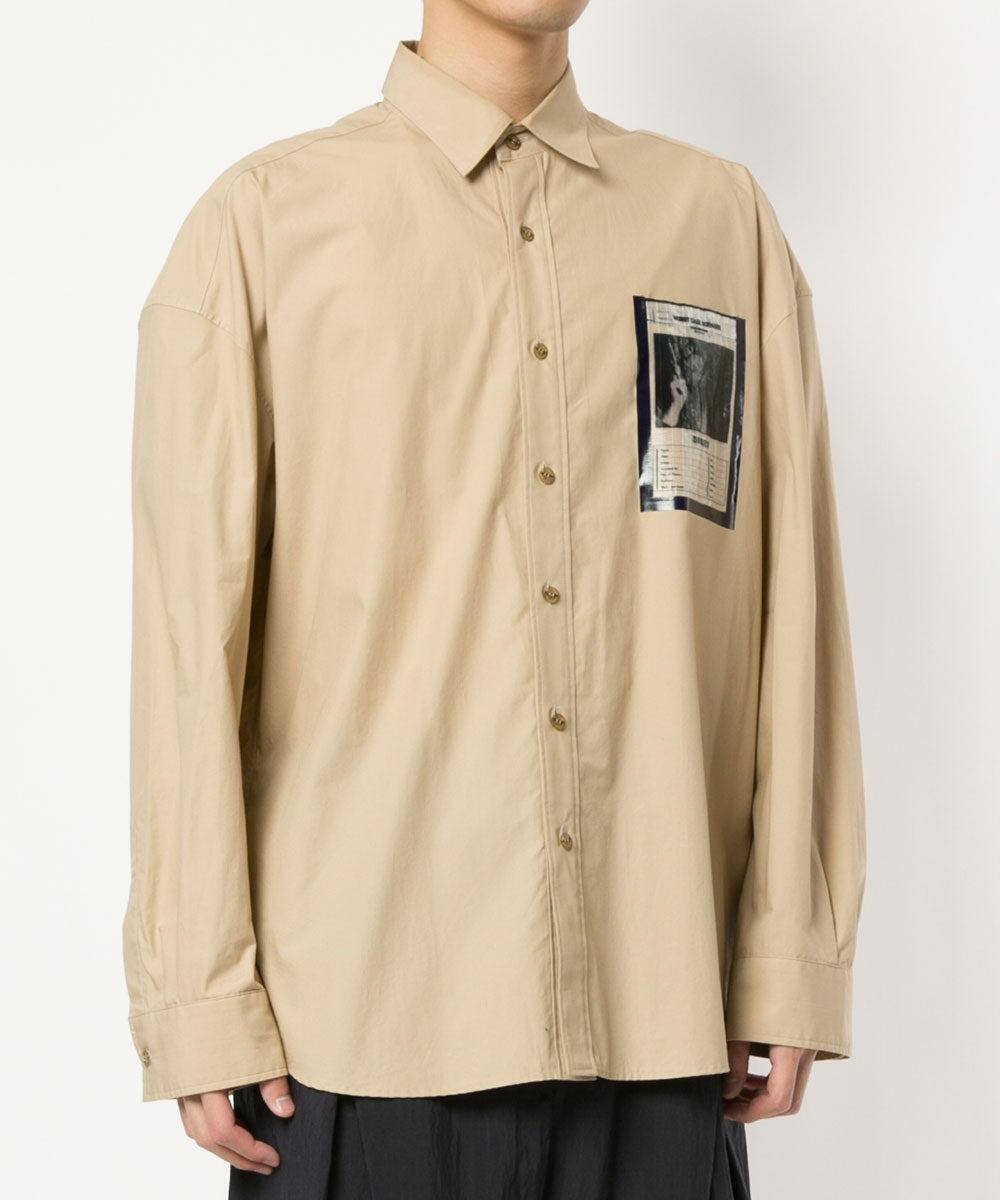 L/S SHIRTS W/WANTED POCKET