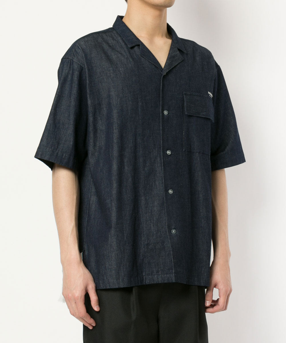 DENIM FRINGE SHIRTS