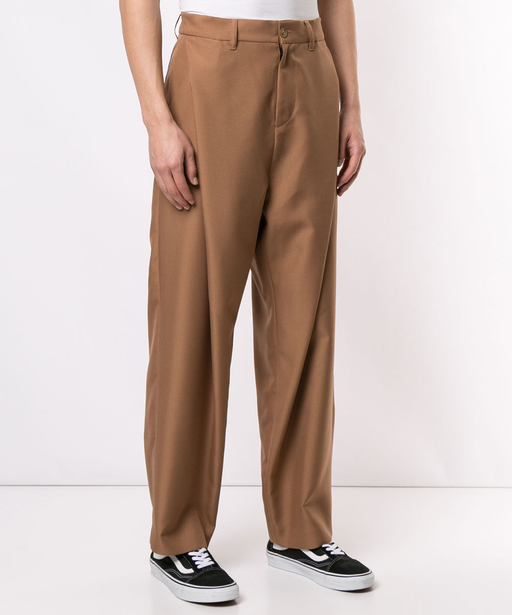TWILL WIDE PANTS