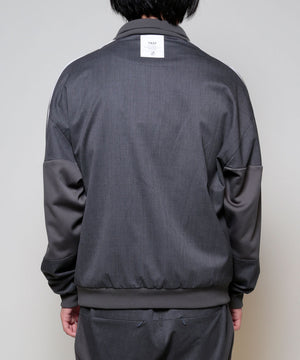SILK WOOL TRACK JACKET