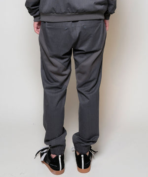 SILK WOOL TRACK PANTS