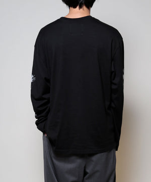 "LONG SLEEVE T ""KEMURI"""