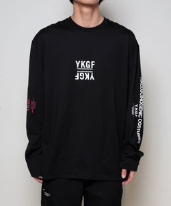 MULTI-FONT LONG SLEEVE T