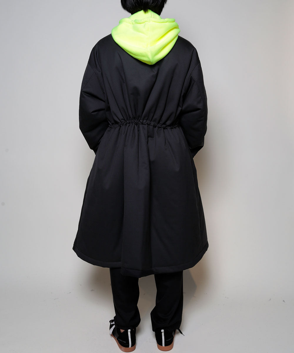 SILK WOOL CHESTER COAT