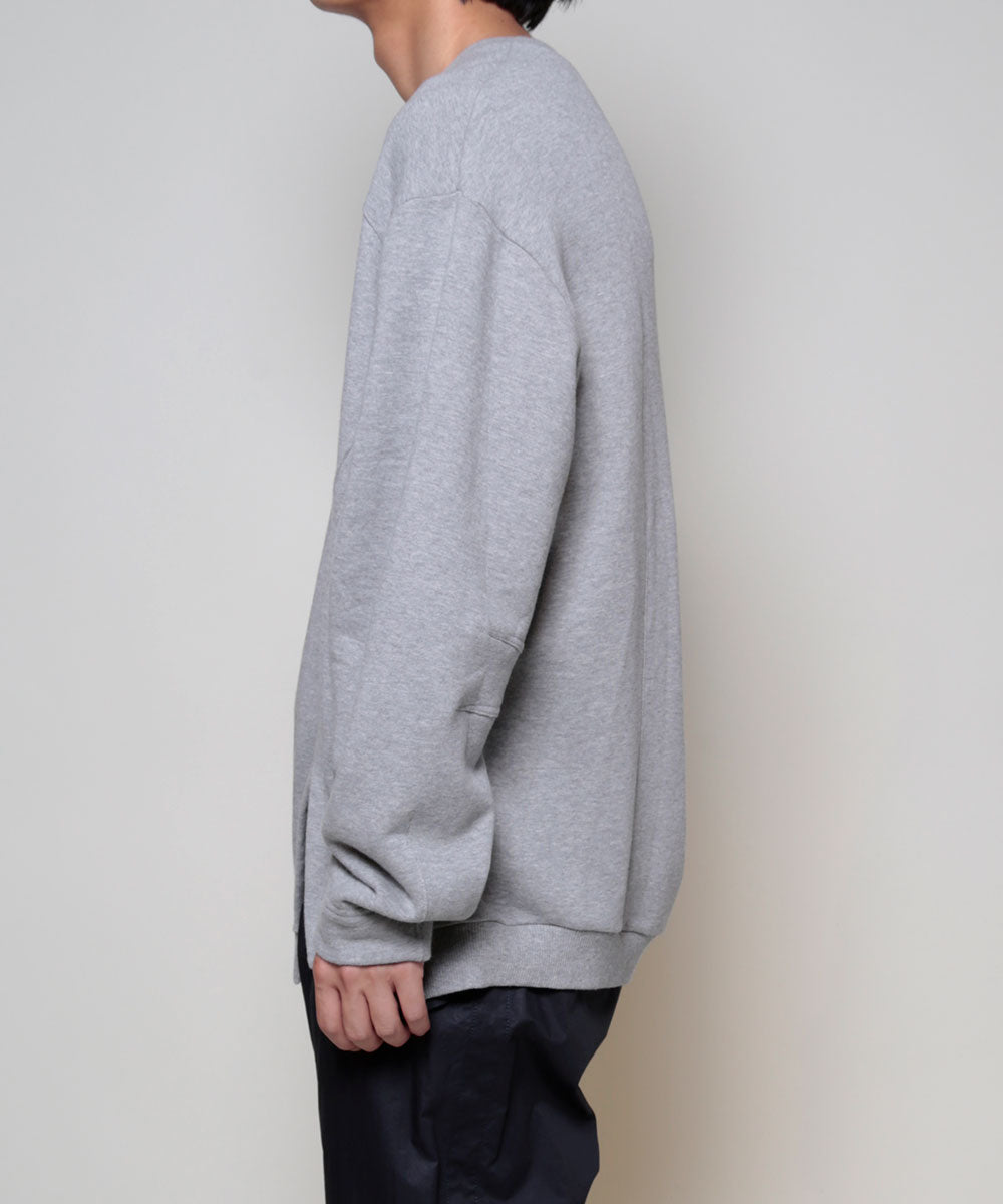 ASYMMETRY SWEAT TOP