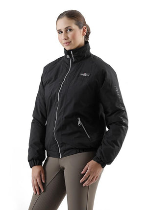 Pro Rider Unisex Waterproof Riding Jacket - Black