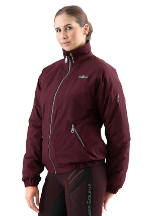 Pro Rider Unisex Waterproof Riding Jacket - Wine