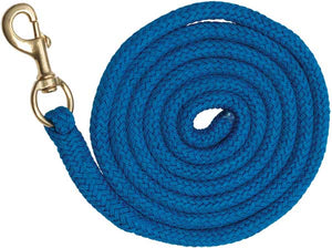 Braided Lead Rope - Royal Blue