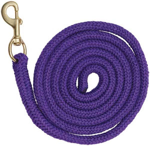 Braided Lead Rope - Purple