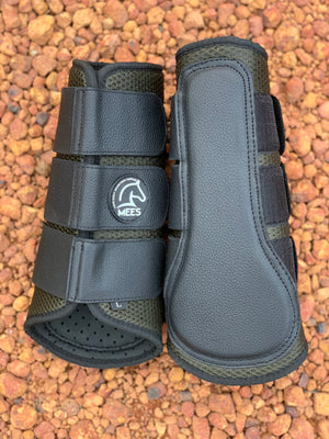 Olive Mesh Ventilated Protection Boots