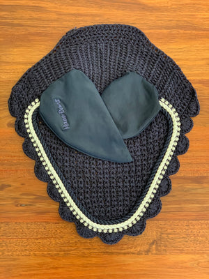 Navy Mane Event Ear Bonnet