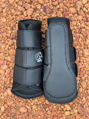 Black Mesh Ventilated Protection Boots