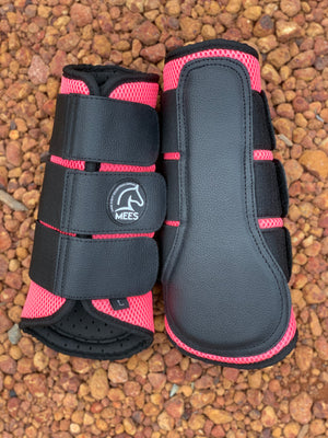Pink Mesh Ventilated Protection Boots