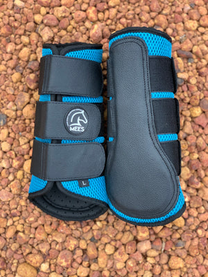 Sky Blue Mesh Ventilated Protection Boots