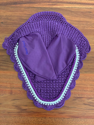 Purple Mane Event Ear Bonnet