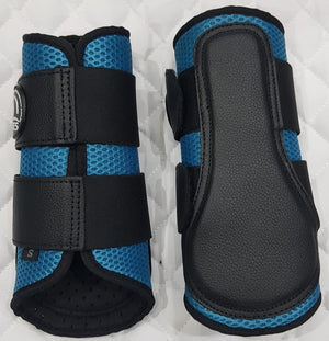 Blue Mesh Ventilated Protection Boots