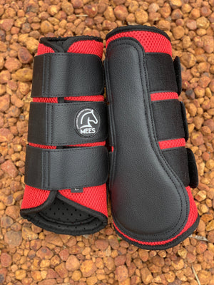 Red Mesh Ventilated Protection Boots
