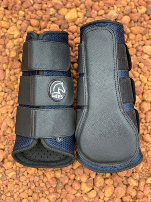 Navy Mesh Ventilated Protection Boots