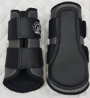 Grey Mesh Ventilated Protection Boots