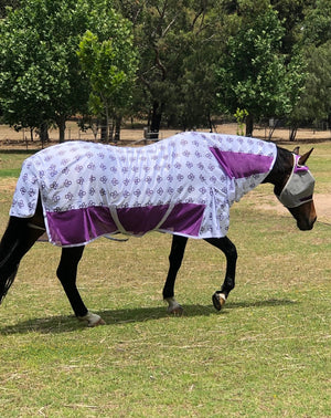 Fly Buster Combo Fly Sheet - Purple