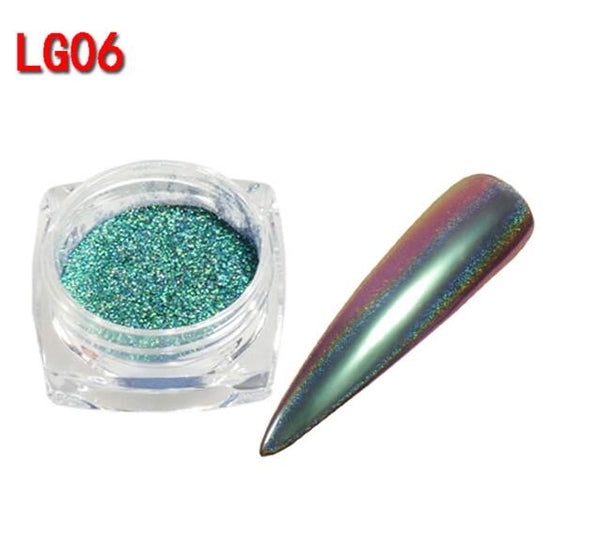Peacock Holographic Pigments