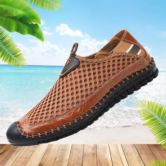 Vipomall New Arrival Men's Summer Breathable Mesh Shoes