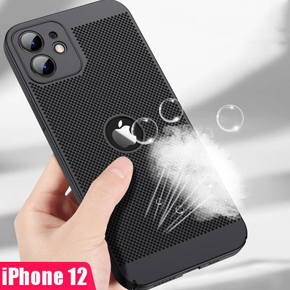 Vipomall Heat Dissipation Ultra Thin Hard PC Case For iPhone 12