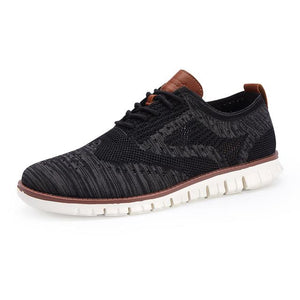 Vipomall 2020 Men's Casual Comfortable Knitted Mesh Shoes