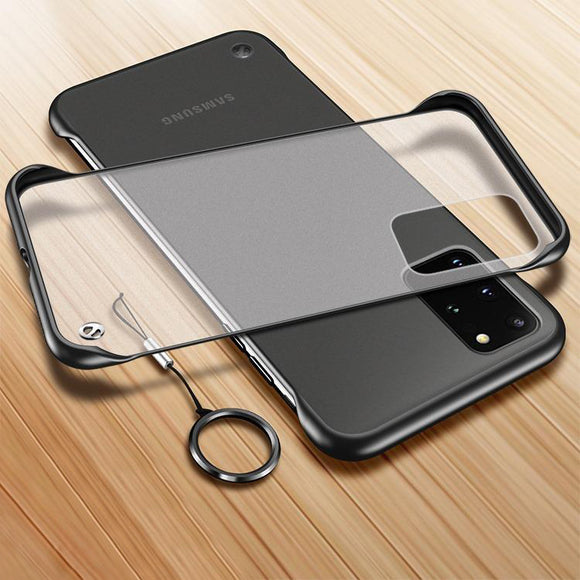 Vipomall Ultra Thin Frameless PC Cases for Samsung Galaxy S20/10/9(Buy 2 Get 10% OFF)