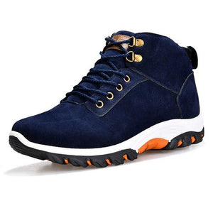 Vipomall Men Lace Up Warm Fur Snow Boots(Buy 2 Get 10% Off)