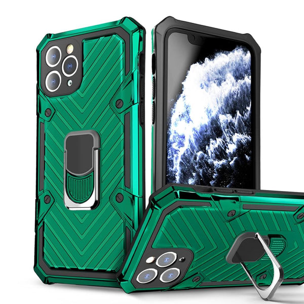 Vipomall Armor Bumper Shockproof Kickstand Case For iPhone